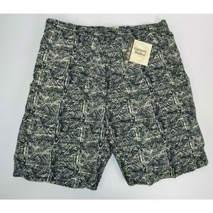 Vtg 1990's Eddie Bauer Geometric Swim Trunks